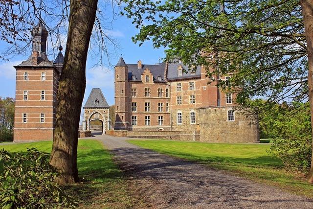 Castle castle merode park, architecture buildings.