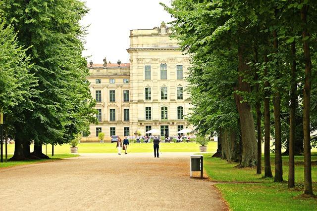 Castle castle park ludwigslust-parchim.