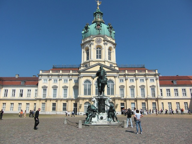 Castle charlottenburg berlin castle, places monuments.