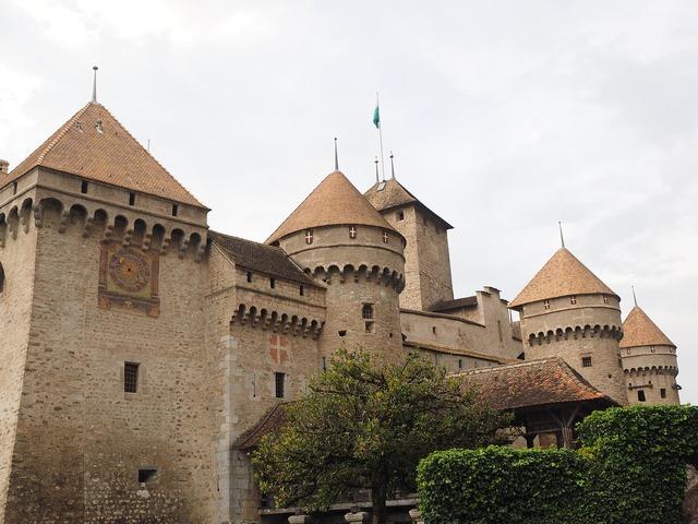 Castle chillon castle chillon, architecture buildings.