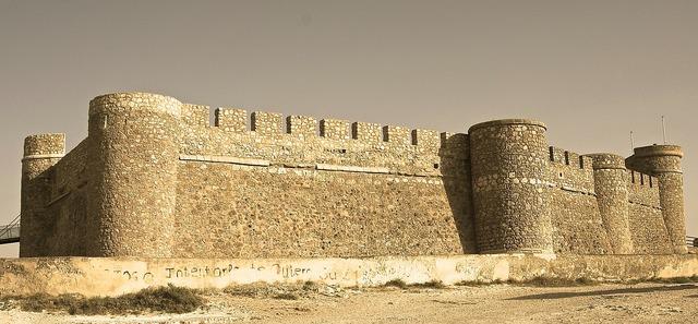 Castle chinchilla medieval.