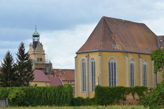 Castle church castle germany.