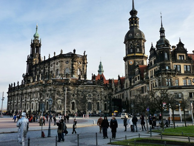Castle church germany dresden.