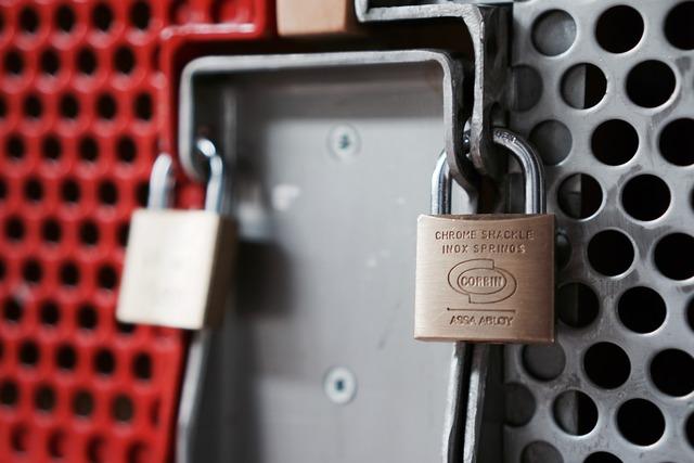 Castle closed padlock.