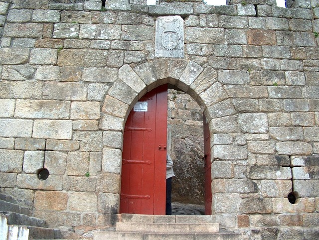 Castle door santa maria of the fair.