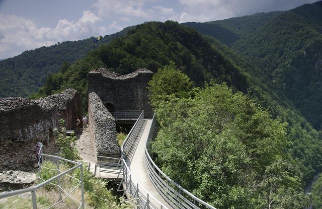Castle dracula cetatea poienari.