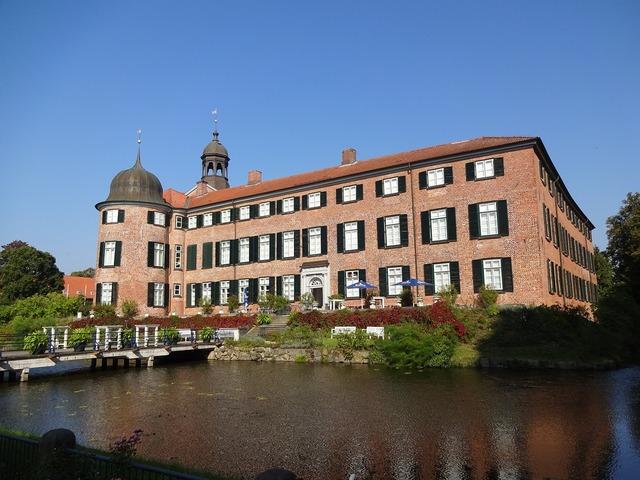 Castle eutin mecklenburg, architecture buildings.