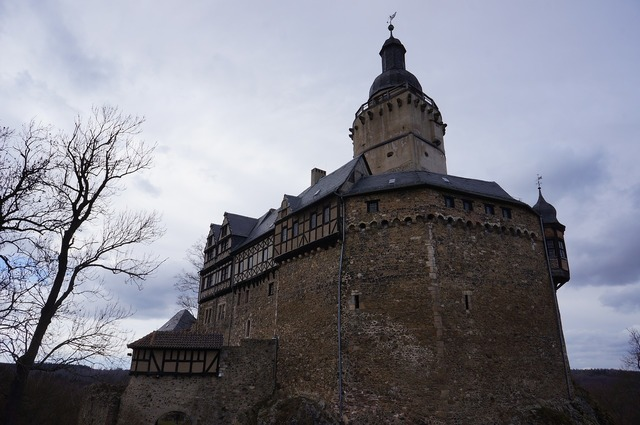Castle falkenstein resin, architecture buildings.