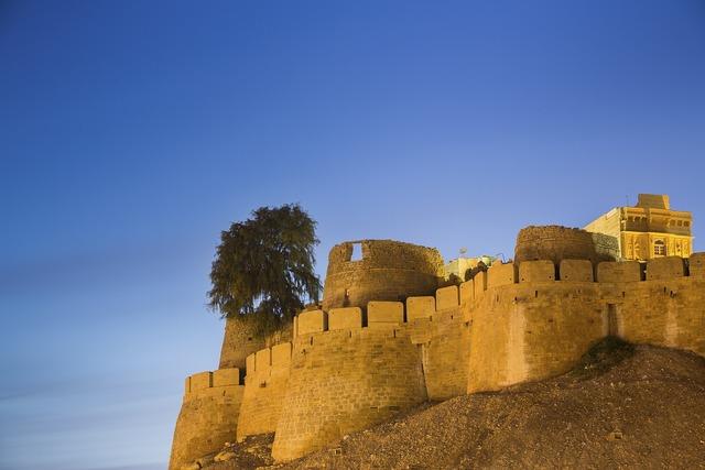 Castle fortress building, architecture buildings.