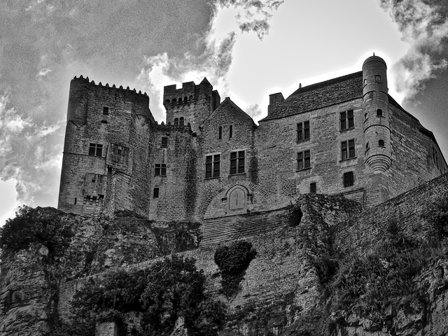 Castle fortress defense, architecture buildings.
