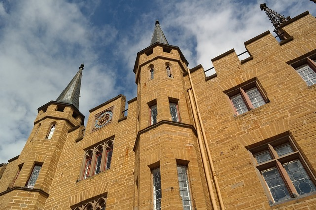 Castle fortress hohenzollern.