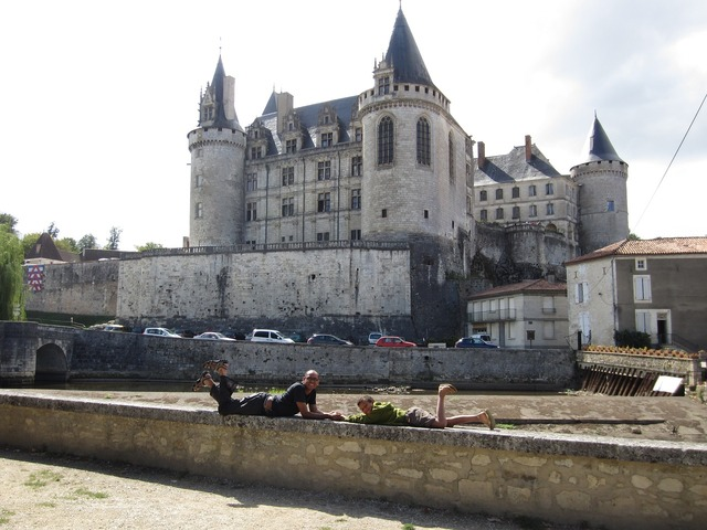 Castle french medieval, places monuments.