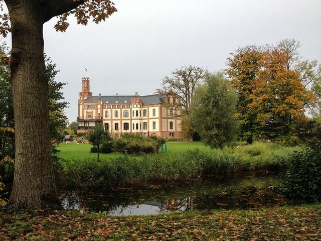 Castle gamehl mecklenburg western pomerania.