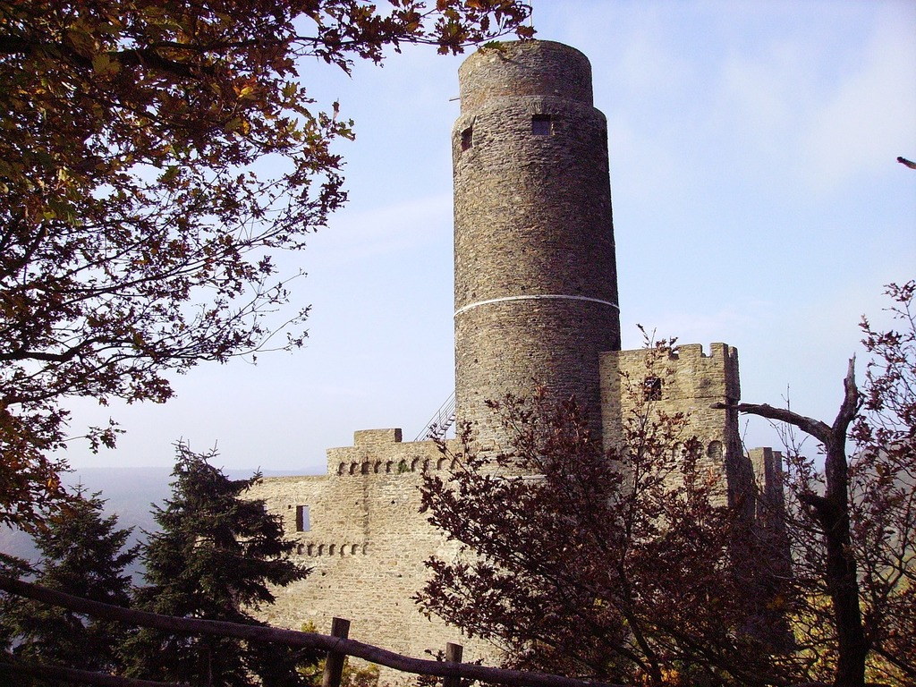 Castle germany middle rhine.