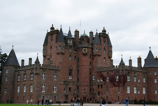 Castle glamis scotland.