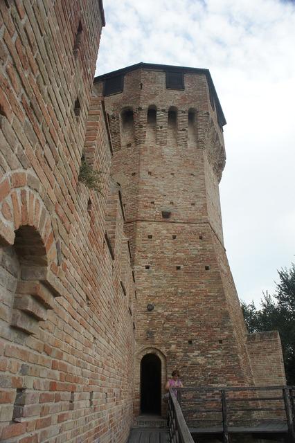 Castle gradara italy.