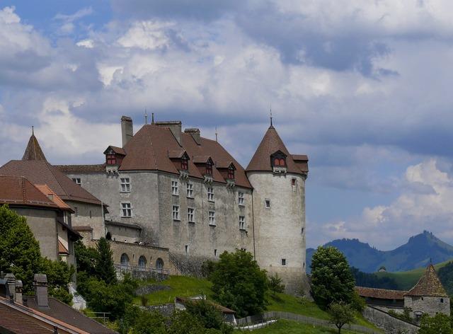 Castle gruyère switzerland.