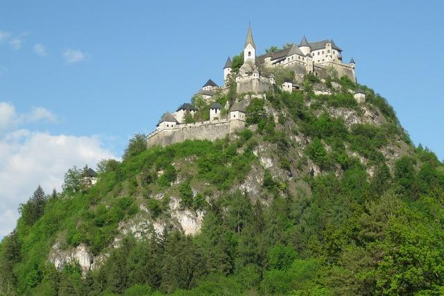 Castle hochosterwitz fortress.