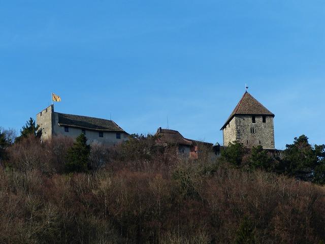 Castle hohenklingen castle hohenklingen, architecture buildings.