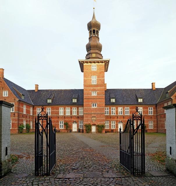 Castle husum castle dutch renaissance, architecture buildings.