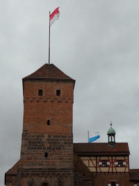 Castle imperial castle nuremberg, architecture buildings.
