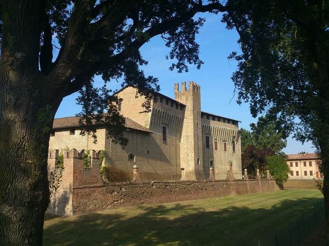Castle italy piacenza.