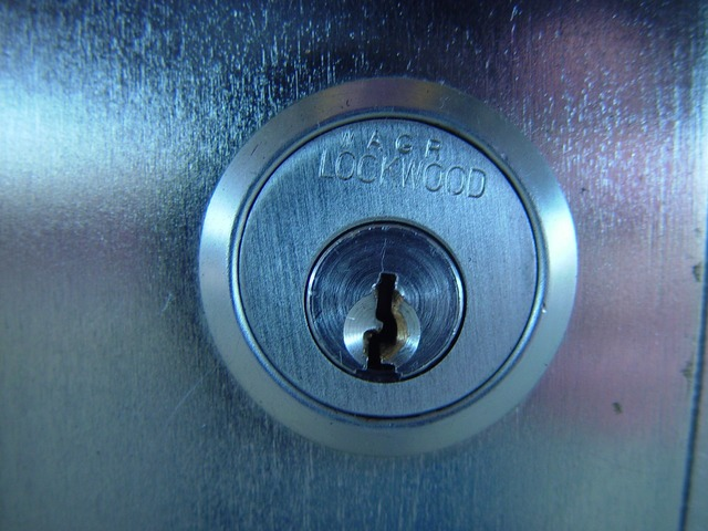 Castle key security lock.