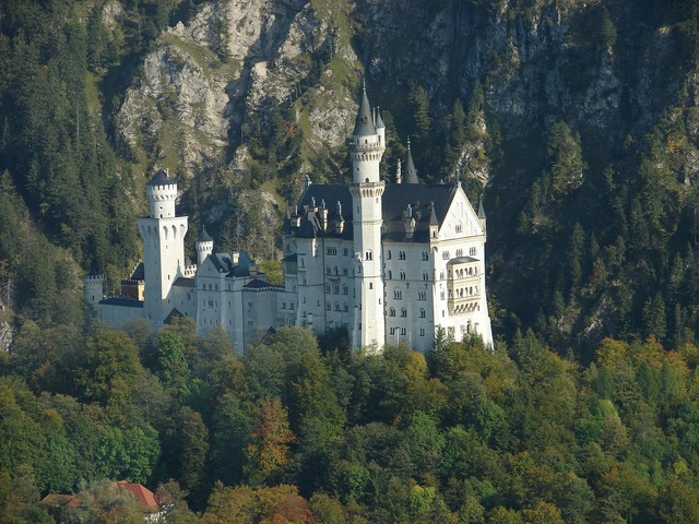 Castle kristin aerial view.