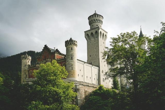 Castle kristin germany, places monuments.