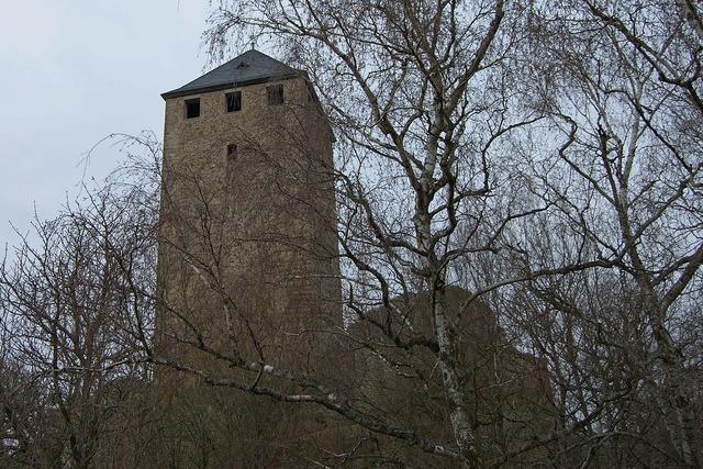 Castle lichtenberg castle burgruine.