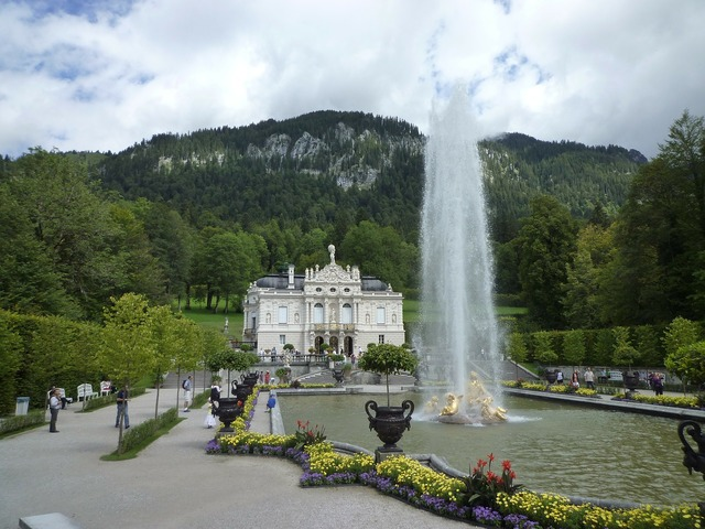 Castle linderhof palace king ludwig the second.