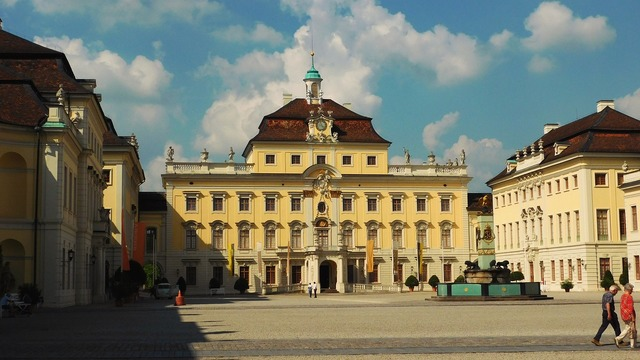 Castle ludwigsburg germany ludwigsburg palace, architecture buildings.