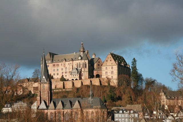 Castle marburg hesse marburg.