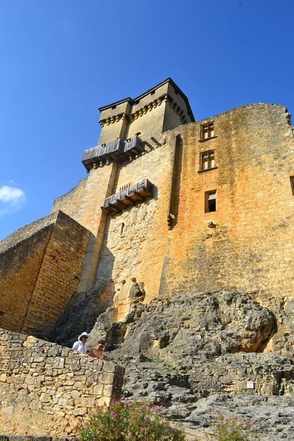 Castle medieval castle stone wall.