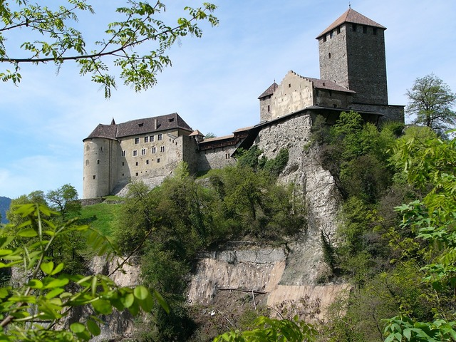 Castle meran south tyrol.