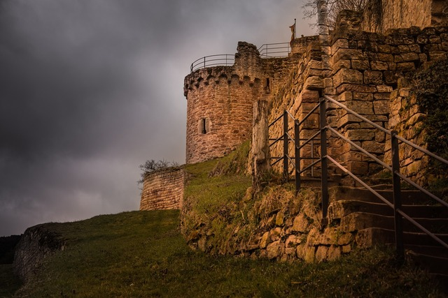 Castle middle ages fortress.