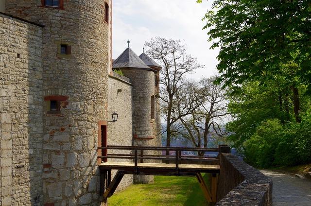 Castle moat würzburg.