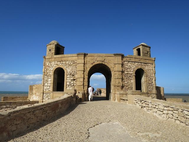 Castle morocco essaouira.