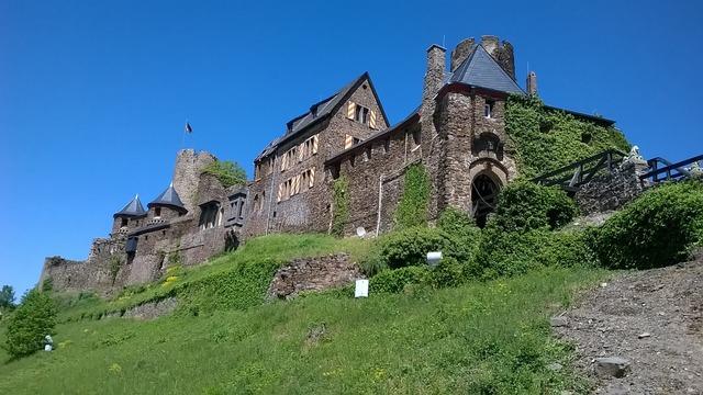 Castle mosel middle ages, architecture buildings.