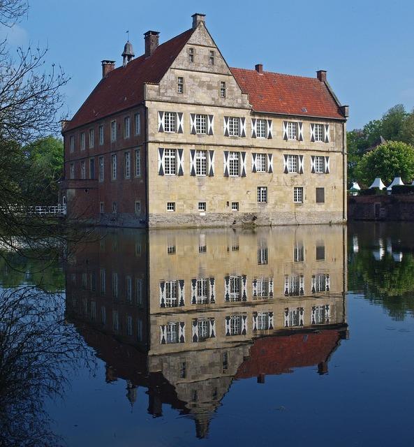 Castle münsterland burg hülshoff.