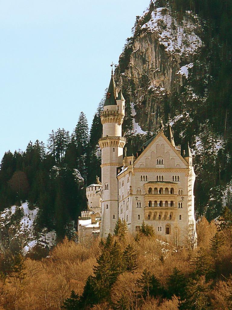 Castle neuschwanstein bavaria germany, architecture buildings.