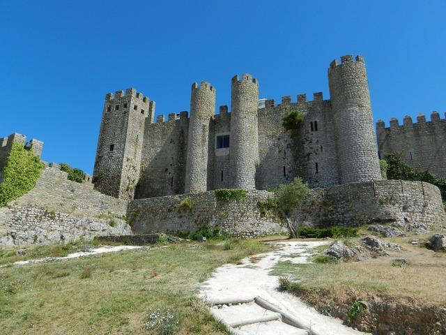 Castle obidos portugal.