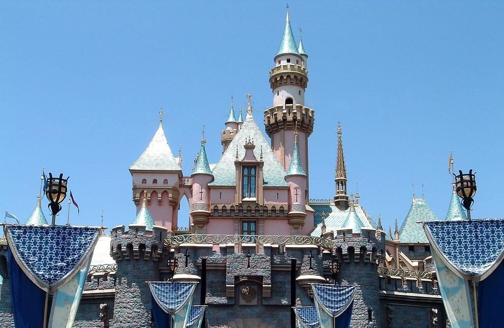 Castle Of The Sleeping Beauty Disneyland Sleeping Beauty Castle