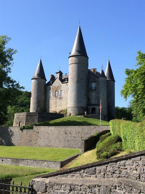 Castle of vêves dinant belgium, architecture buildings.