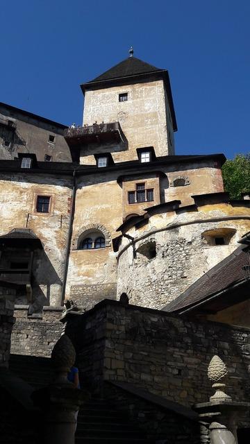 Castle orava slovakia, travel vacation.