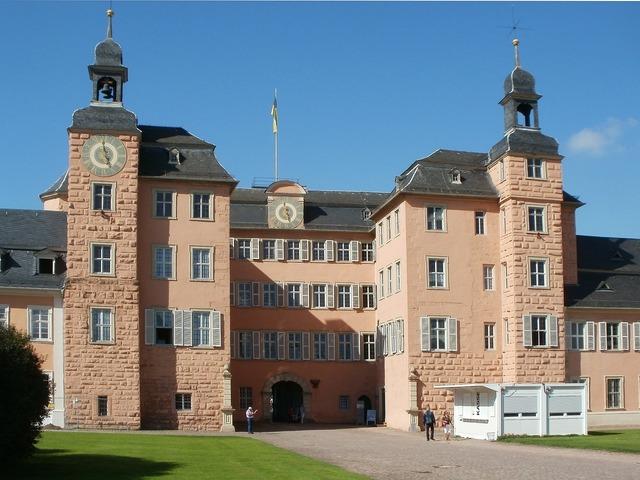 Castle palace schwetzingen, architecture buildings.