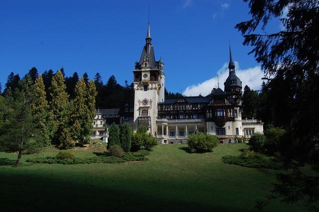 Castle peles architecture, architecture buildings.