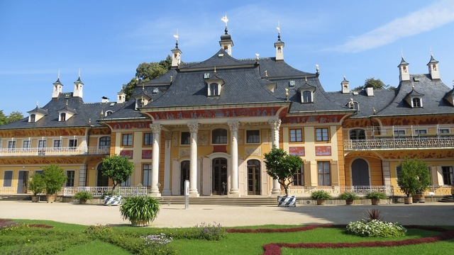 Castle pillnitz dresden.