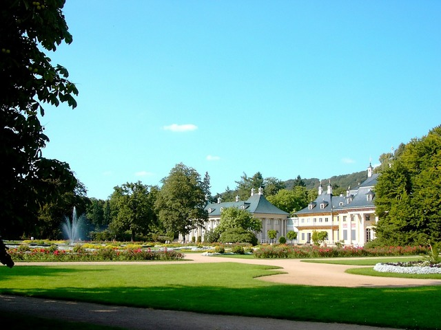 Castle pillnitz mountain palace.