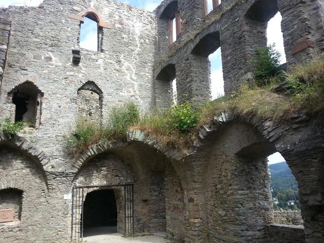 Castle rhine main, architecture buildings.